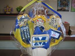 Michigan Gift Baskets University Of Michigan 992 Cookies By Design Englewood Nj