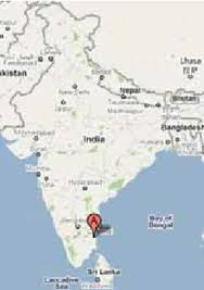 Nepal India Map by Google Map Showing The Location Of Neyveli Lignite Corporation