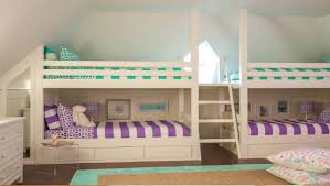 girls bunk bed with slide bedroom ideas marvelous diy storage headboards metal and wood