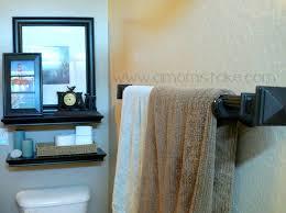bathroom nice privileged towel rack interesting carvings nice