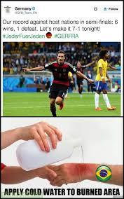 Water For That Burn Meme - that burn by germany football team die mannschaft soccer memes