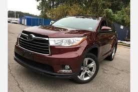 toyota highlander sales used toyota highlander for sale in atlanta ga edmunds
