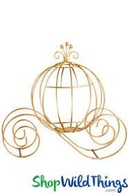 Cinderella Wire Carriage Centerpieces by Princess Party Centerpieces Cinderella Carriage 11