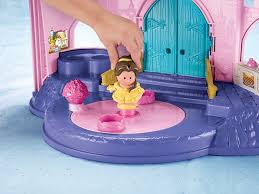 Patio Playhouse Beauty And The Beast by Amazon Com Fisher Price Little People Disney Princess Belle And