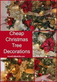 Christmas Decor Cheap by Cheap Christmas Tree Decorations Christmas Decor