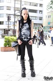 Japanese Designer by Indie Japanese Designer U0027s Dark Look W Hair Falls U0026 Spike Boots
