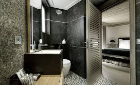 black bathroom decorating ideas interior awesome black and white bathroom decoration using small