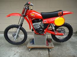 restored honda cr125 elsinore 1980 photographs at classic bikes