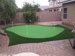 Backyard Putting Green Installation by Putting Greens Installation Turf Installation Artificial Grass