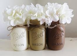 Mason Jars Wedding Centerpieces by 112 Best Distressed Mason Jars Images On Pinterest Distressed