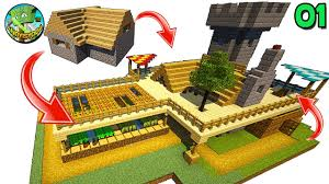 andyisyoda transforms a minecraft l shape house village season 2