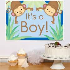 monkey boy baby shower monkey boy baby shower decorations
