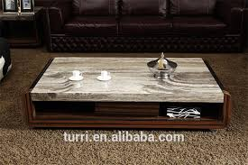 travertine top coffee table center coffee table 2015 new design marble travertine top coffee