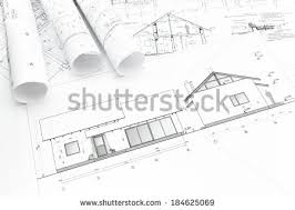 new home construction plans house technical draw stock images royalty free images vectors