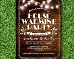 housewarming invitation new house key design invitation card
