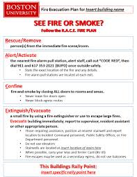 Fire Evacuation Plan Template For Office by Fire Safety Resources Environmental Health U0026 Safety