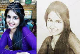 pencil sketch work done in modern arts paintings u0026 crafts in pune