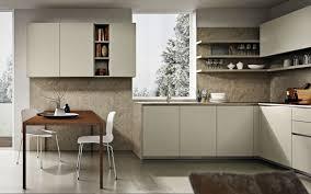 contemporary kitchen laminate l shaped lacquered viva