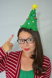 christmas tree hat diy christmas tree party hats cozy reverie cozy reverie