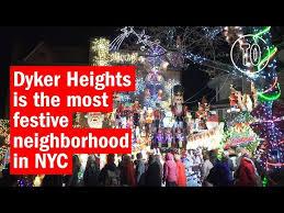 dyker heights christmas lights tour 2017 dyker heights christmas lights 2017 guide and how to get there