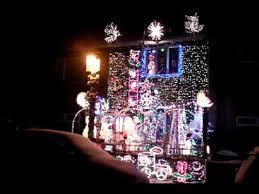 christmas lights 2010 computer control north view christmas