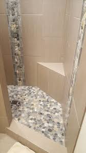 Bathroom Tile Border Ideas by 542 Best Bathroom Pebble Tile And Stone Tile Ideas Images On
