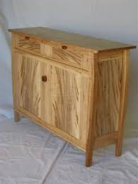 curly maple cabinet doors curly cherry sideboard with granite