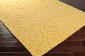 Solid Color Rug Artistic Weavers Central Park Zara Awhp4007 Yellow Area Rug
