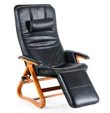Black Leather Recliner Chairs Backsaver Black Leather