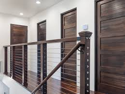 Interior Wood Railing Gallery San Diego Cable Railings