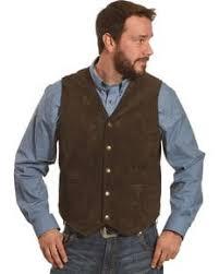 s western cowboy vests wool suede sheplers