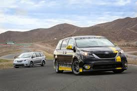 lamborghini minivan toyota sienna r tuned study with stock v6 beats a camaro ss on the