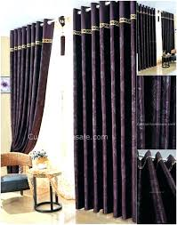 Thick Purple Curtains Purple And Gray Curtains Purple Grey Curtains Large Size Of Blue