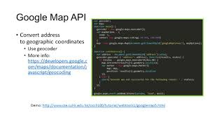 Maps Google Om Csci 3100 Tutorial 8 Web Development Tools 1 Ppt Video Online
