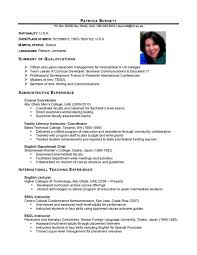 Resume For A Summer Job 10 Format Of A Resume For Job Application Basic Appication How To