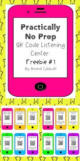 my teacher friend practically no prep listening center qr code