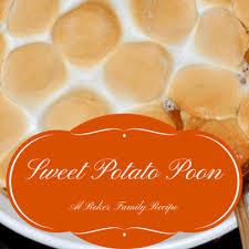 today show thanksgiving favorites al roker sweet potato poon recipe
