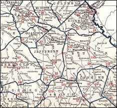 Augusta Ga Map Georgia U0026 Florida Railroad 1926 Map Swainsboro To Augusta