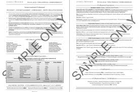 2 Page Resume Examples by Two Page Resume Header Examples A 2 Page Resume Examples For