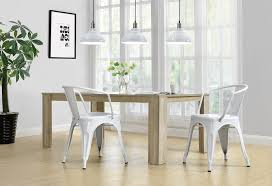 dining room interesting distressed metal indoor stackable chair
