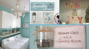 diy shabby chic style laundry room decor ideas home decor
