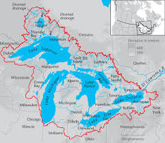 Hamilton Canada Map Province Helping Local Groups Protect And Restore The Great Lakes