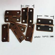 old style cabinet hinges bronze tone metal cabinet door luggage hinge 4 holes decor furniture