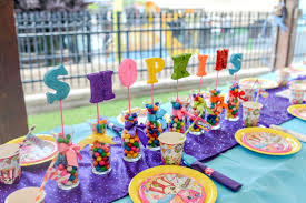 candyland birthday party ideas party centerpiece party supplies foam letters party