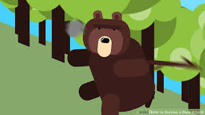 survive bear attack 11 steps pictures wikihow