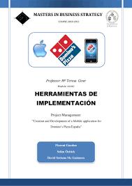 domino u0027s pizza project