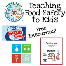 fun ways to teach food safety food safety free printable and safety