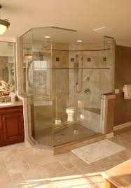 Large Bathroom Showers 4 Design Options For Walk In Showers Glass Create And Walls