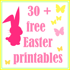 free printables easter u2013 happy easter 2017