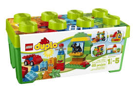 duplo preschool play table price drop on duplo 10572 creative play all in one box of fun